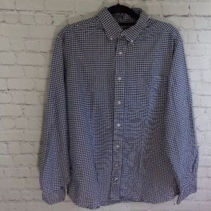 Cremieux Classics Checkered Blue Men's Shirt LG